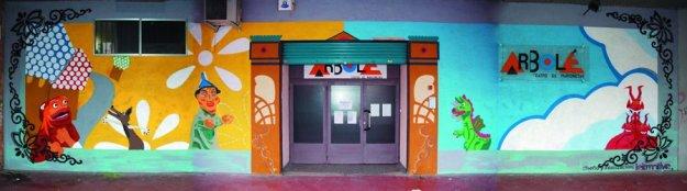 Fachada Sala Actur de Teatro Arbolé