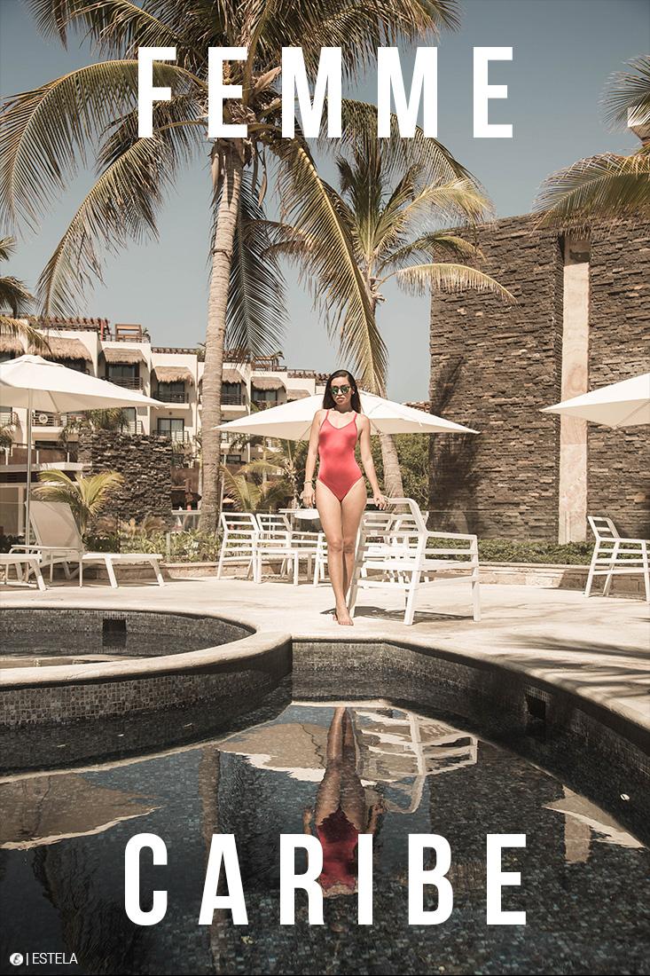 Estela Digitorial Femme Caribe shot by Alejandro Romero
