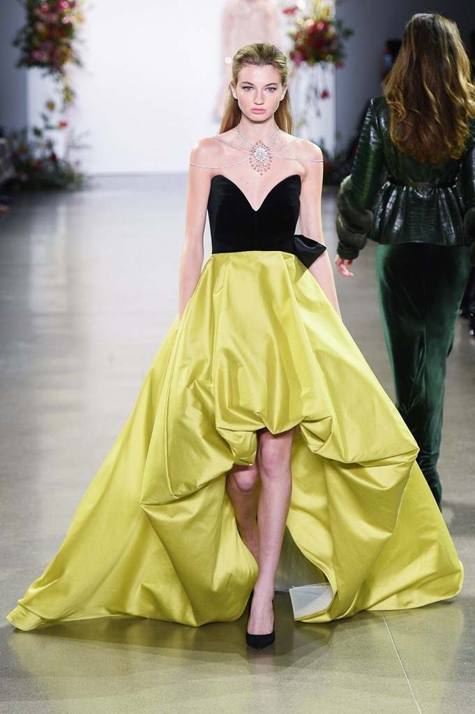 Bibhu Mohapatra Fall/Winter 2019 at New York Fashion Week