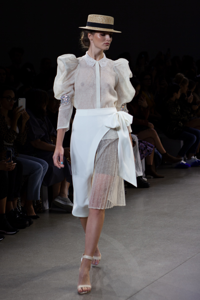 Estela on the Scene: Taoray Wang SS20 Runway Show