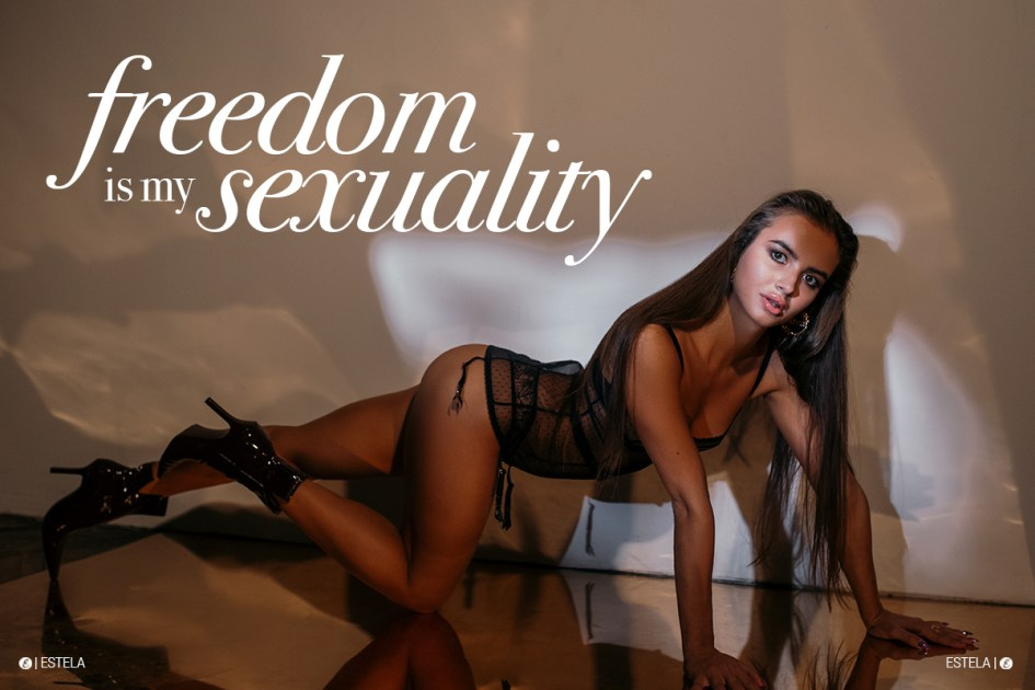 Estela Mag Fashion Digitorial: Freedom is My Sexuality shot by Irina Anakina