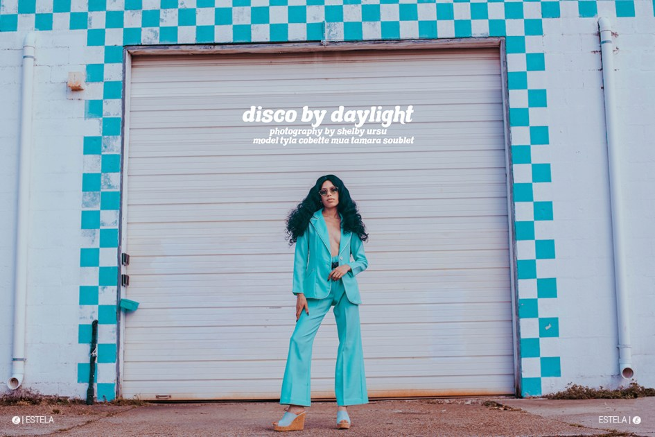 Estela Mag Fashion Digitorial: Disco by Daylight shot by Shelby Ursu