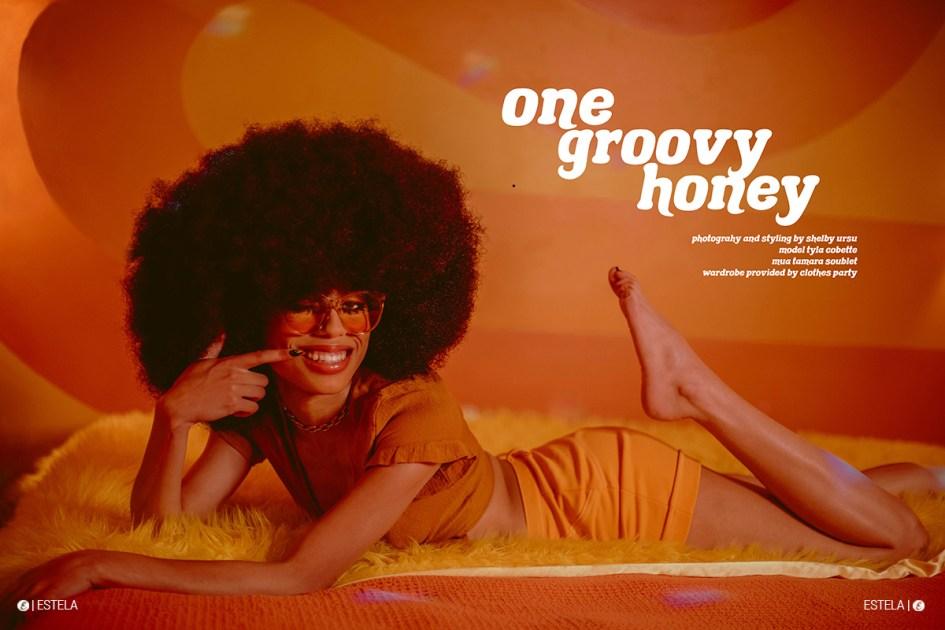 Estela Mag Fashion Digitorial: One Groovy Honey shot by Shelby Ursu