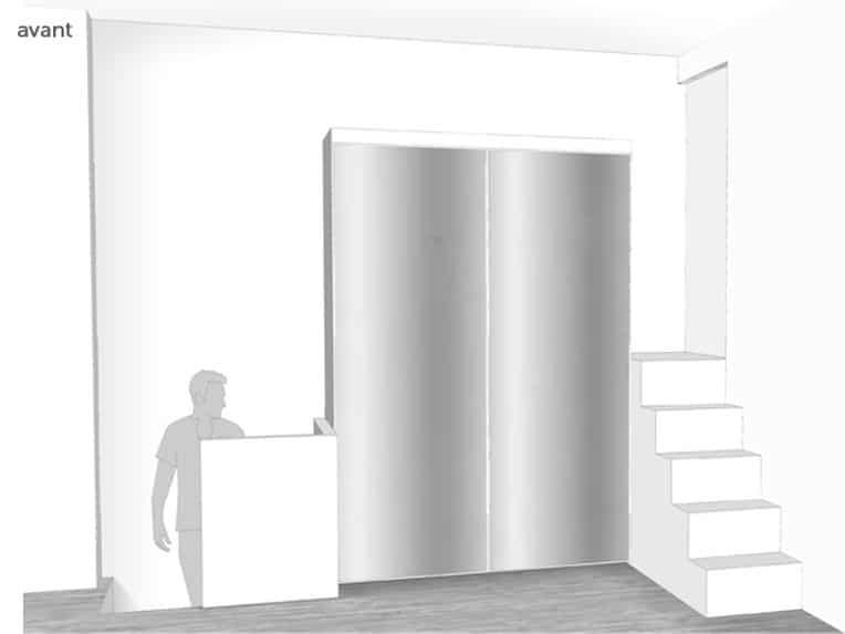 un loft paris estelle chevallier architecte d 39 int rieur paris. Black Bedroom Furniture Sets. Home Design Ideas