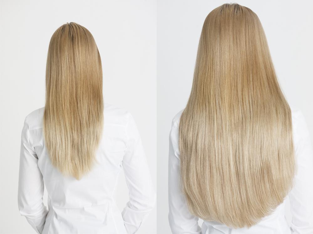 Estelles Secret 100 Remy Clip In Hair Extensions In Minutes