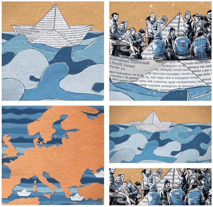 Protección y promoción de los derechos humanos. En el año 2000, el Parlamento Europeo, la Comisión Europea y el Consejo