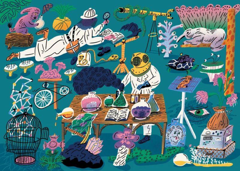 Design Professional – Aart-Jan Venema, un ilustrador holandés que trabaja en La Haya, Países Bajos. Aficionado a las aventuras, libros, ciencia futurista e historias oscuras.