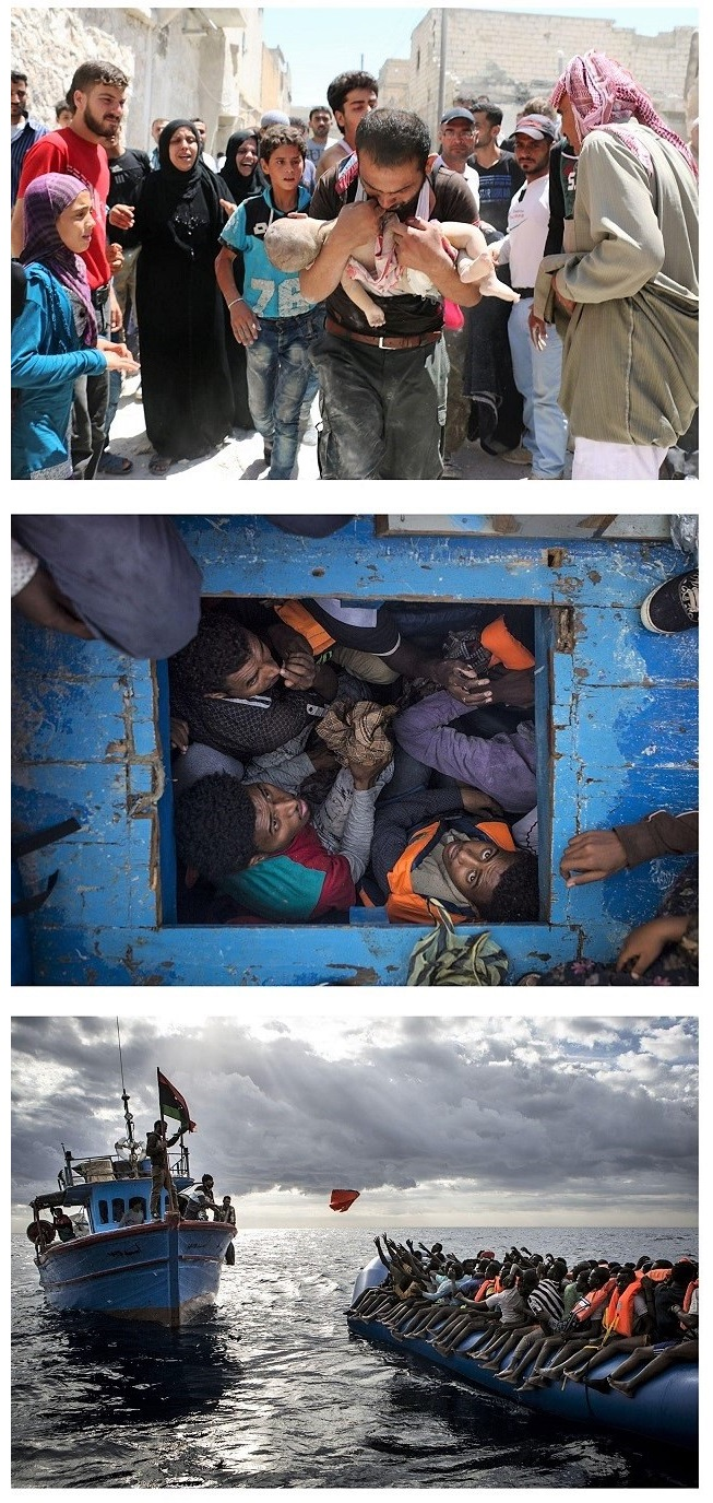 World Press Photo of the Year by Burhan Ozbilici