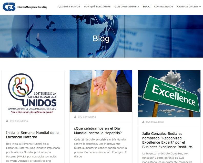 Información y servicio público. cybconsultoria.com
