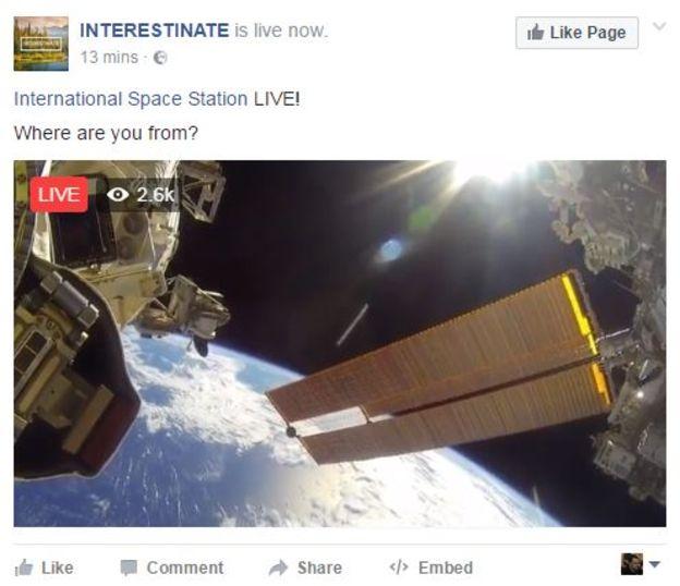 pero no se trataba de una emisión en directo. Era una noticia falsa y se convirtió en viral. Comprobar en la Web oficial nos sacaba de dudas.