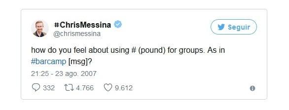 hashtags populares etiqueta