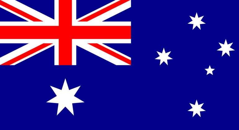 """La bandera australiana tiene un """"Union Jack"""""""