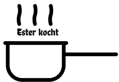 Ester kocht