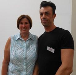 Cristiano Soffia e Ingrid Steffen