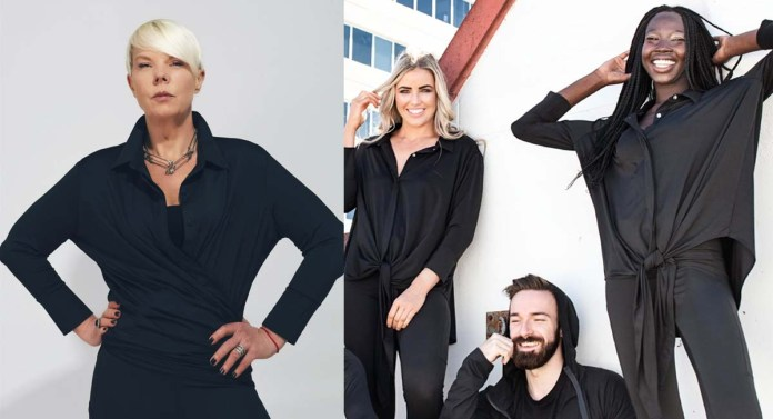 Tabatha Coffey launches her New Sustainable Workwear Line by BeauTex