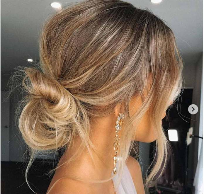 Summertime hair inspiration: the cord knot bun is quick and easy