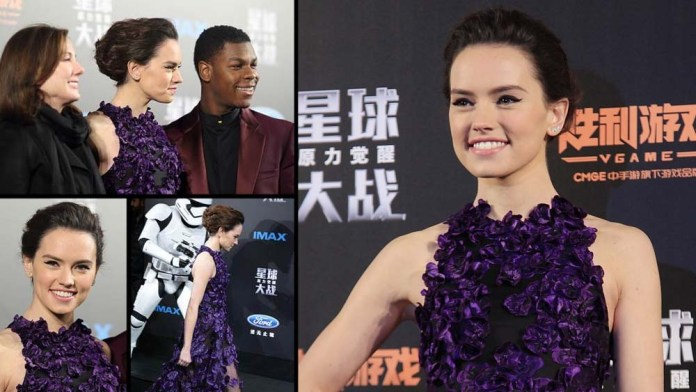 How To! Star Wars' Daisy Ridley's Romantic Hairstyle by Robert Vetica for Joico