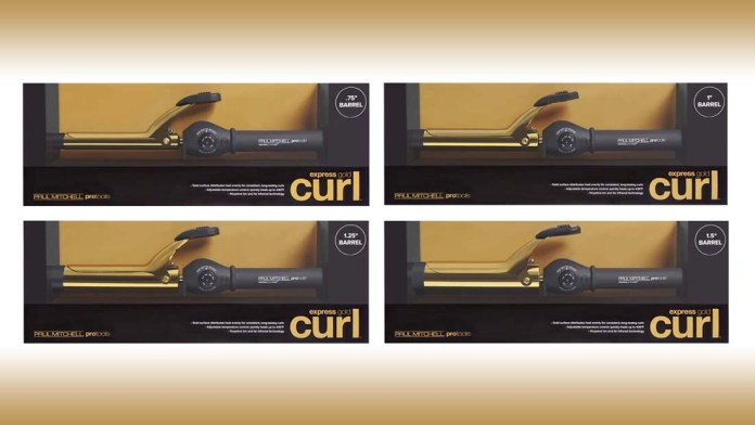 Smooth, Hydrated Curls! Paul Mitchell introduces Express Gold Curl Collection