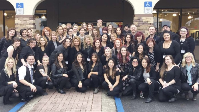 Top-Tier Stylists Complete Phase One of Redken Artist Induction 2016