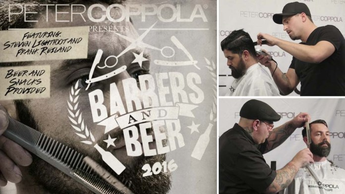 Barbers and Beer with Peter Coppola and his Master Barbers