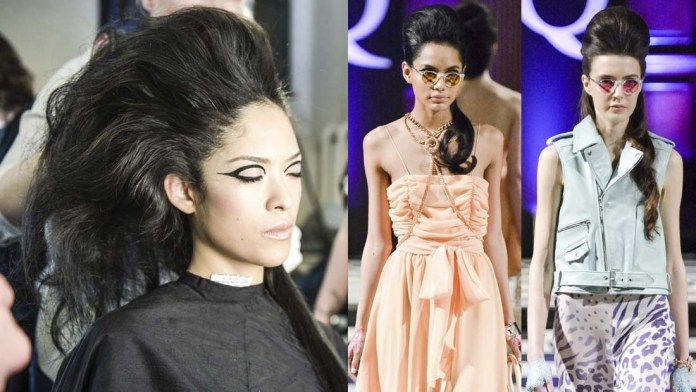London Fashion Week How-To! The Youthful Bouffant by Catwalk by TIGI