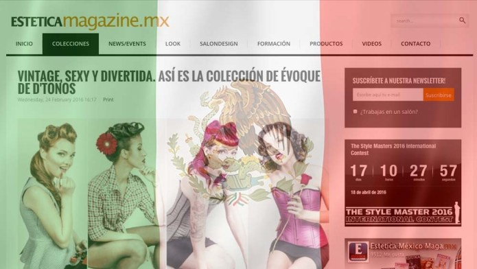 We Welcome Estetica Mexico into Our On-Line Family!