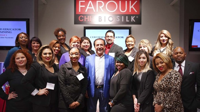 Farouk Systems Hosts 3-Day Certified Educator Training Course