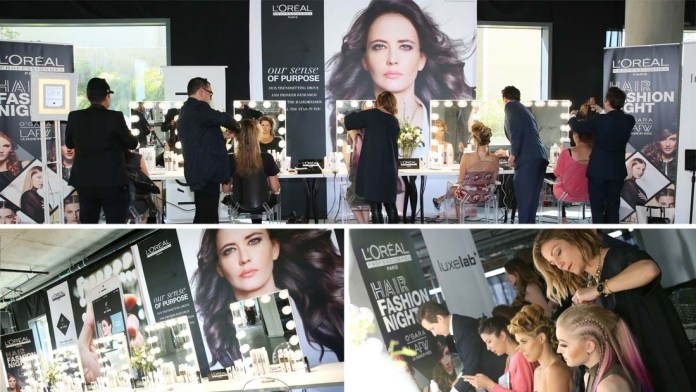 L'Oréal Professionnel's Hair Fashion Night brings hairstyling to glamorous Miami Swim Week