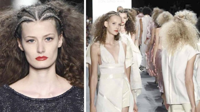 Get the NYFW Look: Son Jung Wan's Organic Textured Hair by Jorge Luis for L'ANZA