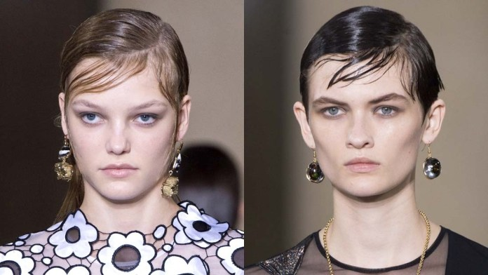 Get the Look! Christopher Kane's Shiny, Layered Grungy Hair by Guido for Redken