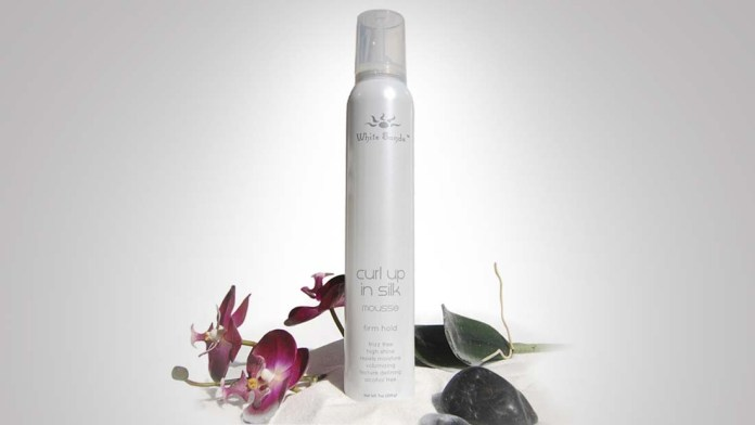 How To Change & Sculpt your Curl Pattern with White Sands Curl Up in Silk Firm Hold Mousse