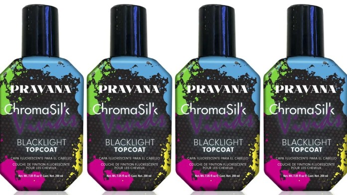 Ready. Set. GLOW! Discover the NEW Limited Edition ChromaSilk VIVIDS Blacklight Topcoat