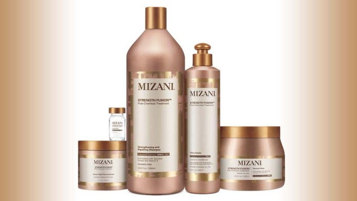Strong, Supple, Fortified Hair: Mizani Strength Fusion Post Chemical Rescue Service