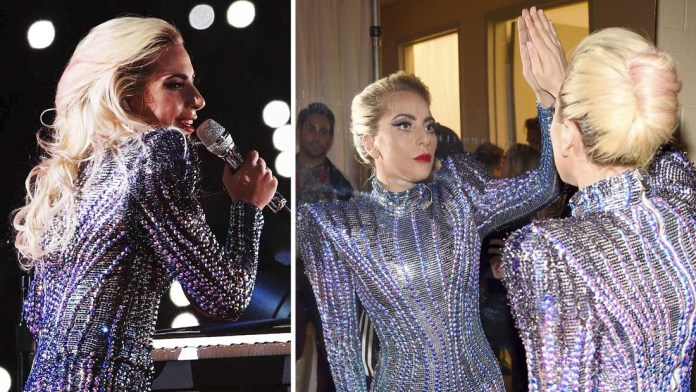 Showstopper How To: Lady Gaga's Super Bowl Glamorous Looks + Haircolor Formula!