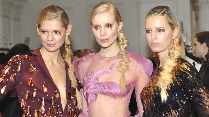 Get the NYFW Look: Christian Siriano's Copper Embellished Fishtail by Sebastian Professional