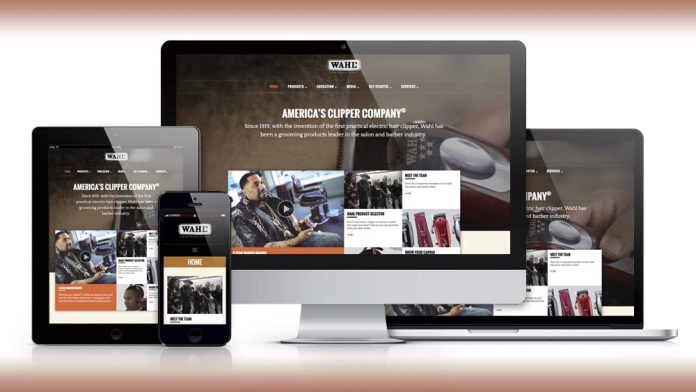 Wahl Professional launches New Website as Hub for Industry Professionals
