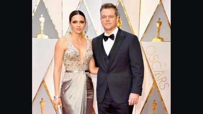 Get the Oscars' Look! Matt Damon & Luciana Barroso Styles by Torsten Witte using Oribe