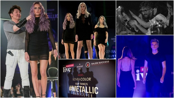 #MetallicObsession! Guy Tang storms the United Kingdom with Salon Success Live!