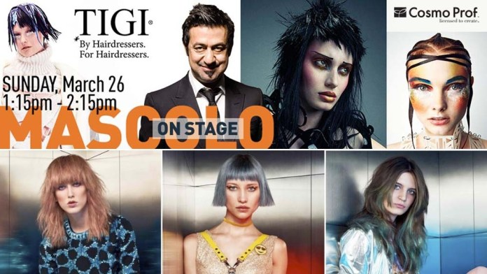 Shift your Vision! Anthony Mascolo & the TIGI International Creative Team @ ABS Chicago
