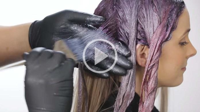 Video Alert! Metallic Haircolor Technique: CrissCross Color Melt by Ricardo Santiago