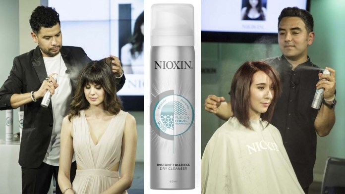 Introducing Nioxin's Newest Innovation: Instant Fullness Dry Cleanser