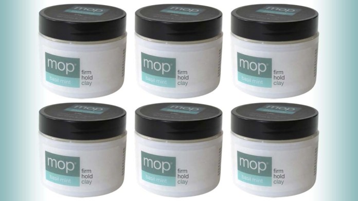 MOP introduces latest styling innovation: Basil Mint Clay