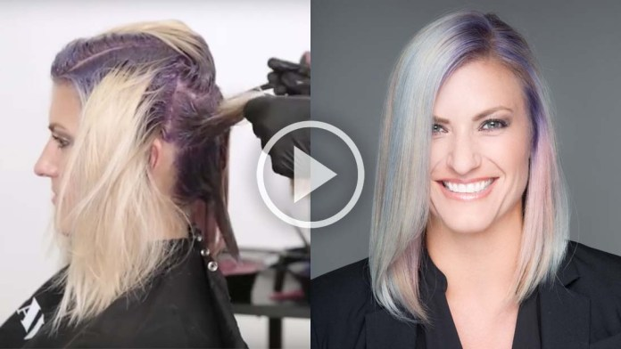 Video Alert! How-To: Mother of Pearl Hair Painting with Precious Metals