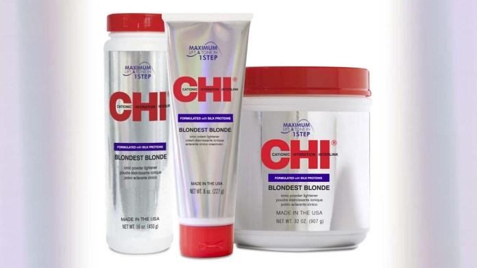 Upgraded Formulation! CHI Blondest Blonde Ionic Powder and Cream Lightener