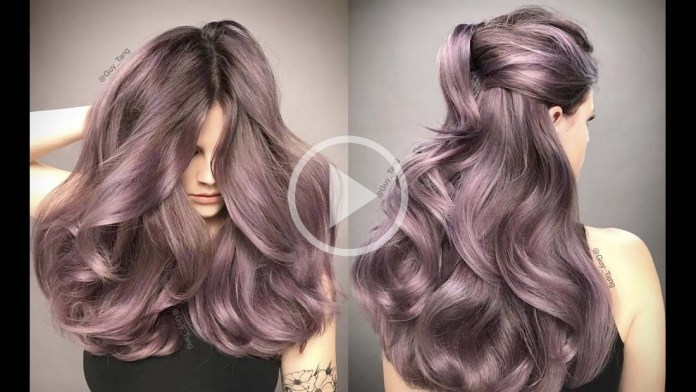 Video Alert! How To: Dusty Lavender Hair Color