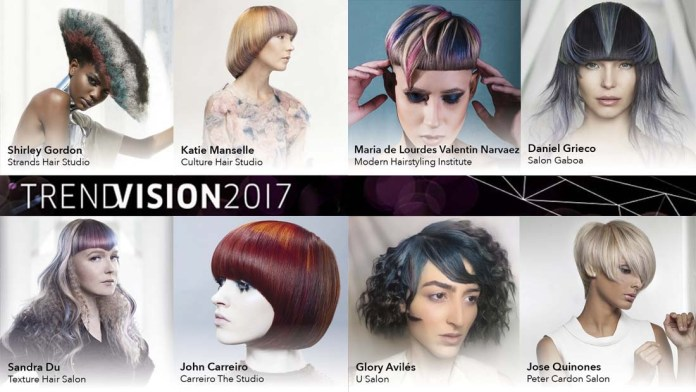 Hot News! Meet the Winners of Wella's North American TrendVision Awards 2017!
