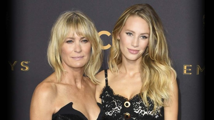 Like Mother, Like Daughter! How To: Robin Wright + Dylan Penn Vivacious Looks by Paul Norton