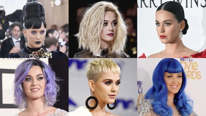 The Many Looks of Katy Perry: Top 20 Hairstyles at Full Volume!