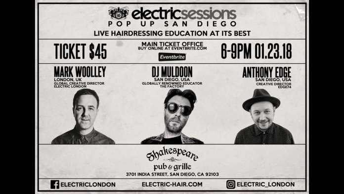 Three British Greats in Cali! Electric Sessions announces Pop Up in San Diego