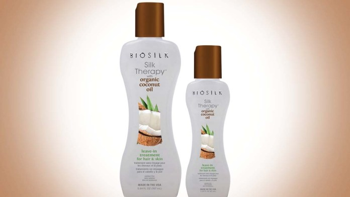 Leave In Treatment: BioSilk launches NEW Silk Therapy with Organic Coconut Oil